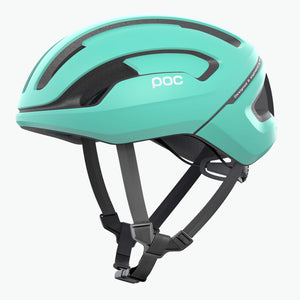 POC Omne Air Spin Road Cycling Helmet, Flurite Green Matt, buy online at Woolys Wheels with free delivery!