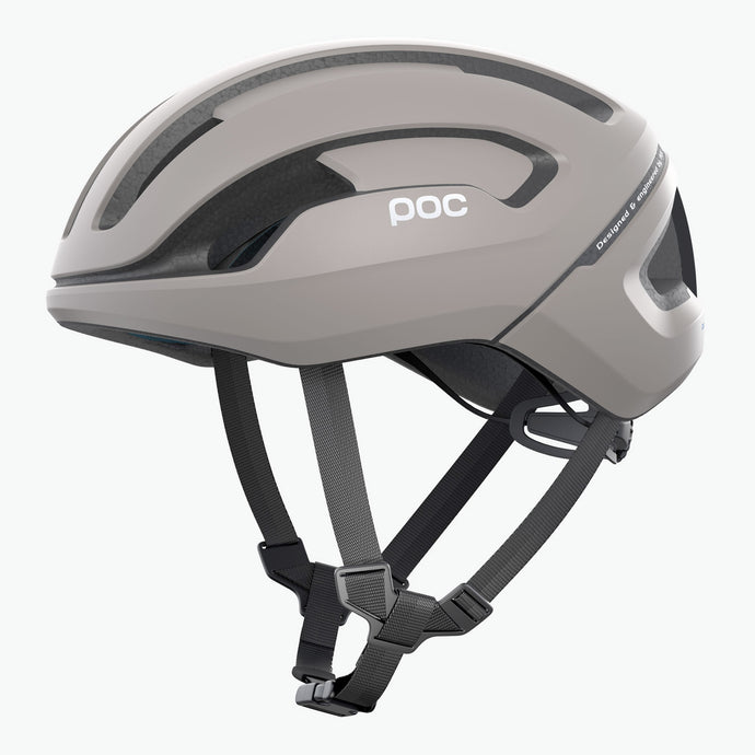 POC Omne Air Spin Road Cycling Helmet, Moonstone Grey, buy online at Woolys Wheels with Free Delivery!