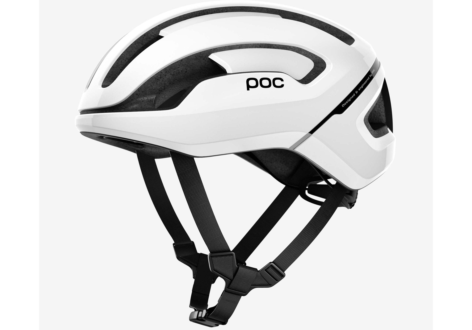 POC Omne Air Spin Unisex Road Cycling Helmet, Hydrogen White at Woolys Wheels Sydney