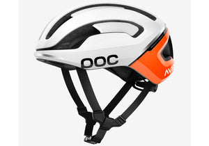 POC Omne Air Spin Unisex Road Bike Helmet, Zinc Orange Woolys Wheels Sydney