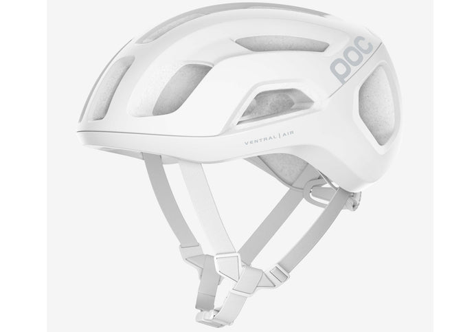 POC Ventral Air Spin Unisex Road Bike Helmet, Hydrogen White Matt Woolys Wheels Sydney