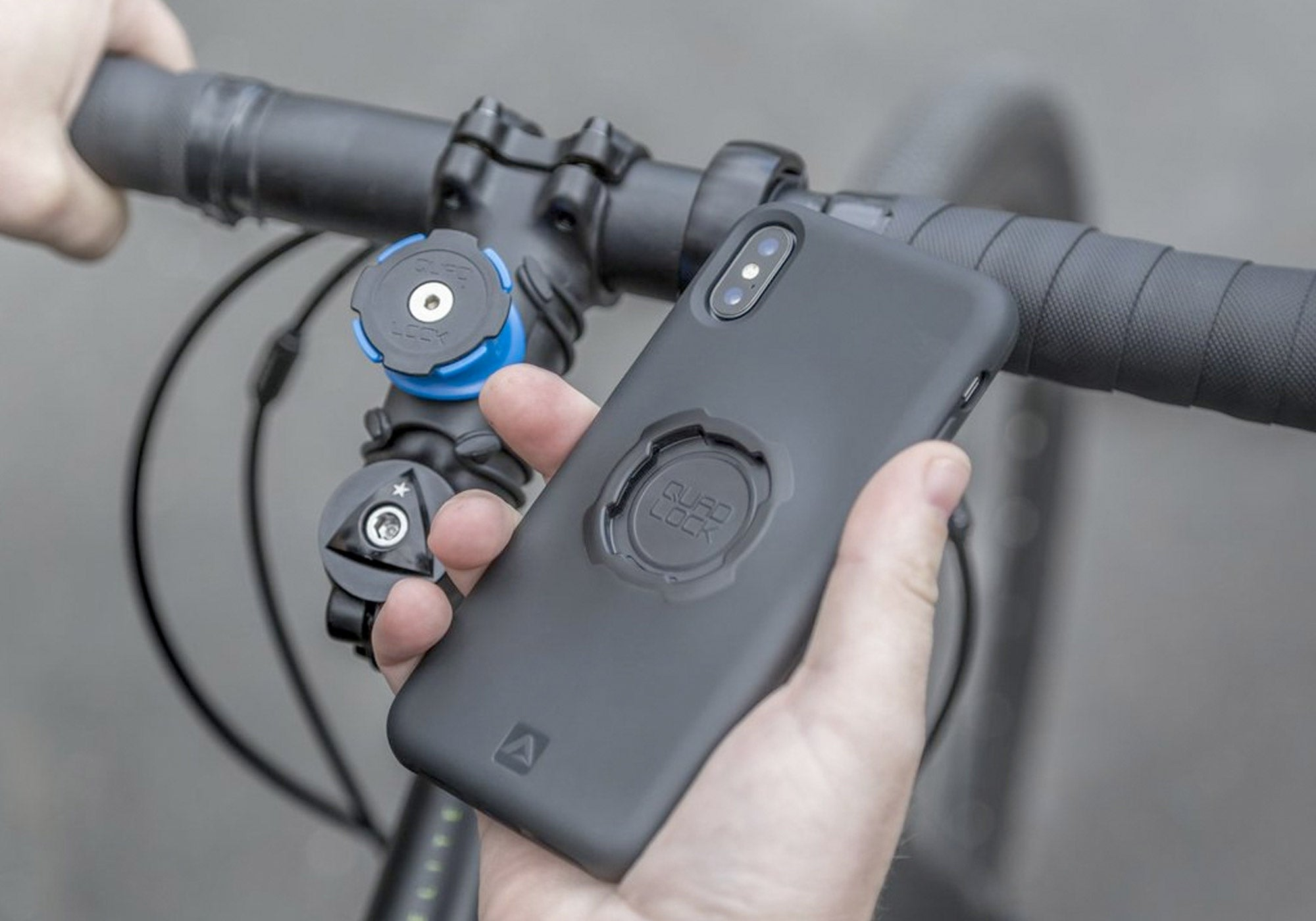 QuadLock Bike Kit For iPhone 7 Plus Woolys Wheels