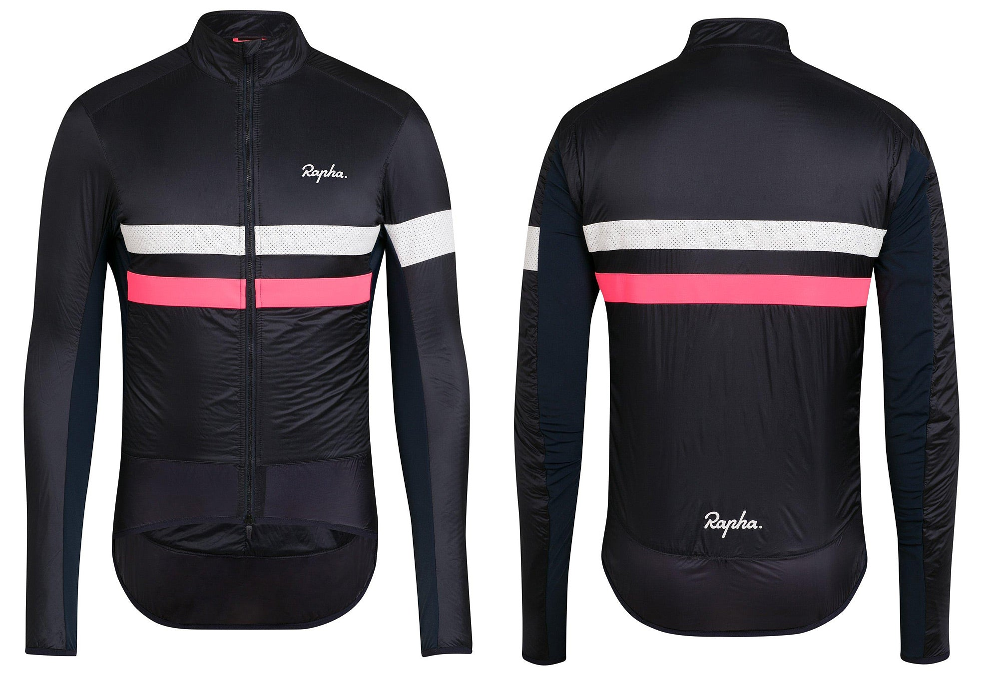 Rapha Brevet Insulated Jacket, Black, Woolys Wheels Sydney