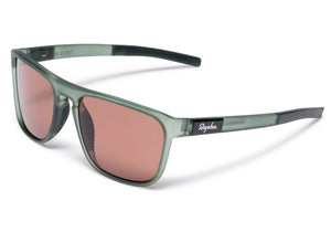 Rapha Classic Sunglasses Green Transparent/Pink Lens, buy online at Woolys Wheels