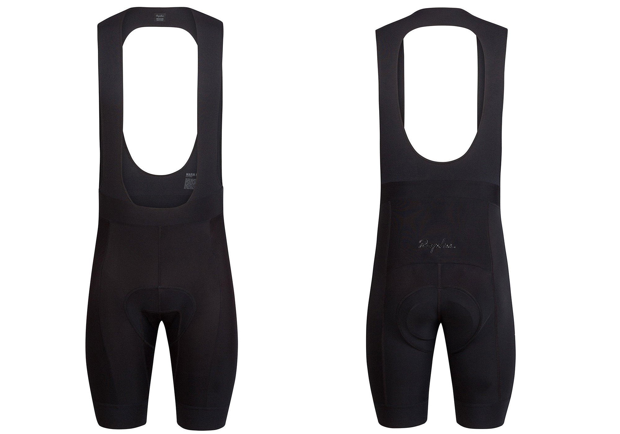 Rapha Mens Core Bib Short 2021, Black, buy online at Woolys Wheels Sydney with free delivery