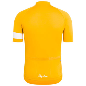 Rapha Mens Core Jersey, Yellow