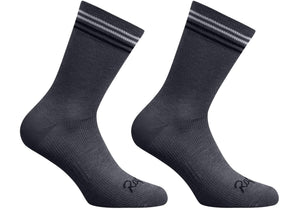 Rapha Mens Merino Socks - Regular, Grey, Woolys Wheels Sydney