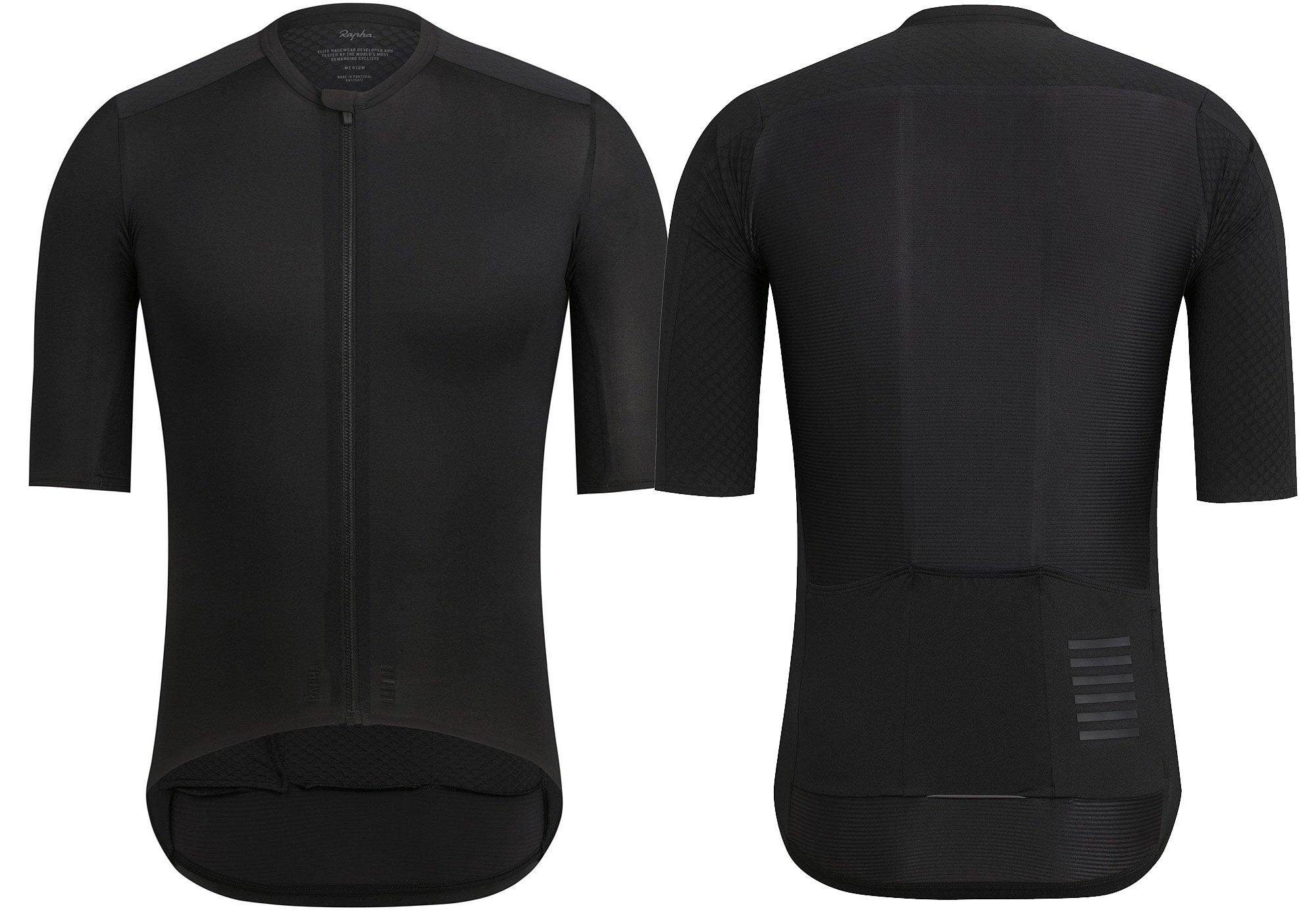 Rapha Mens Pro Team Aero Jersey, Black Woolys Wheels Sydney Paddington