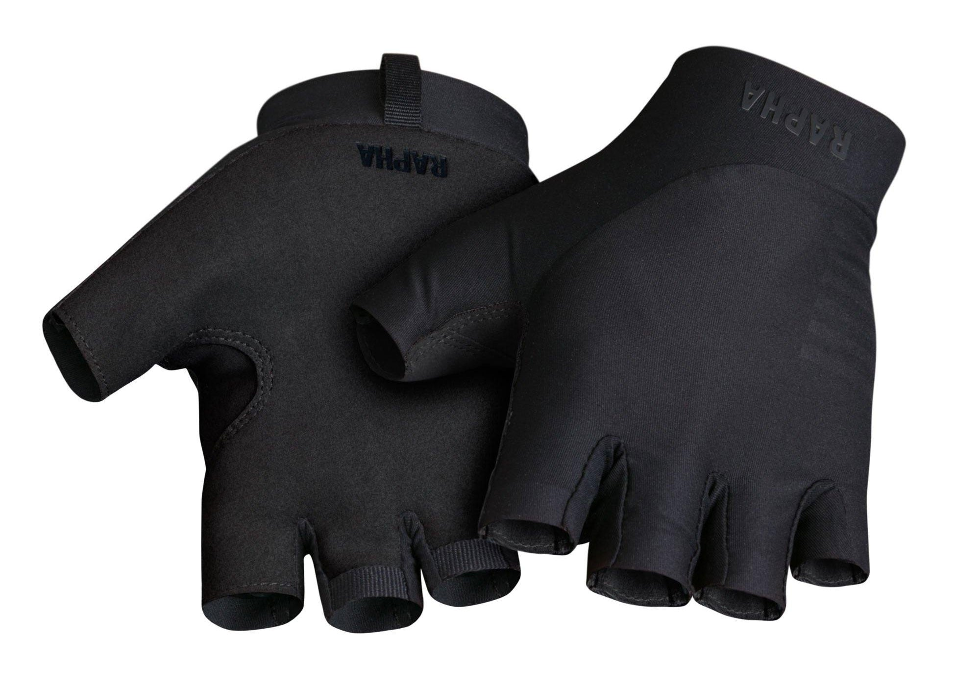 Rapha Pro Team Mitts, Black Woolys Wheels Sydney