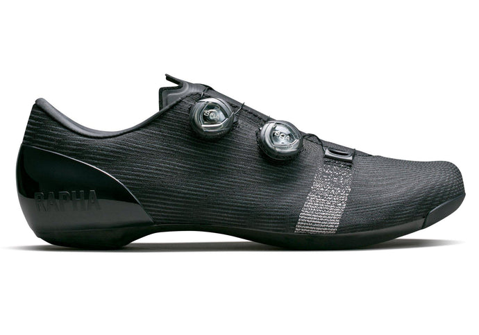 Rapha Pro Team Mens Road Shoes, Black, Woolys Wheels Bike Shop Sydney