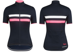 Rapha Womens Brevet Jersey, Dark Navy Woolys Wheels Paddington Eastern Suburbs Sydney