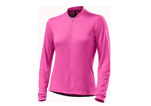 Specialized RBX Sport Jersey Womens Long Sleeve Neon Pink