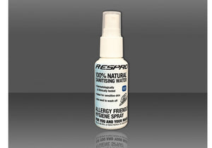 Respro Pollution Mask Sanitiser, 50ml Woolys Wheels Sydney