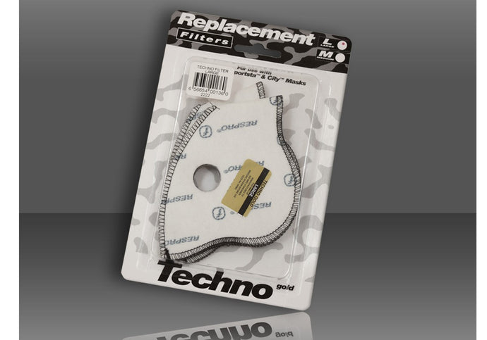 Respro Techno Filter Twin Pack, Large Woolys Wheels Sydney