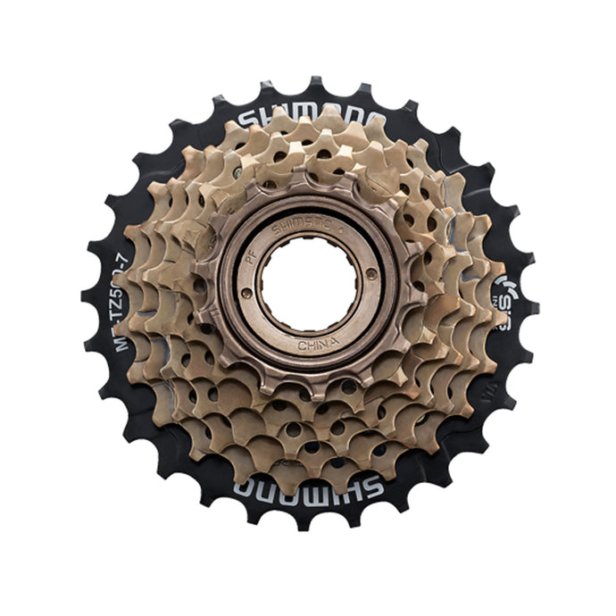Shimano MF-TZ500 7 Speed Freewheel 7, 14-28 Tooth buy online at Woolys Wheels