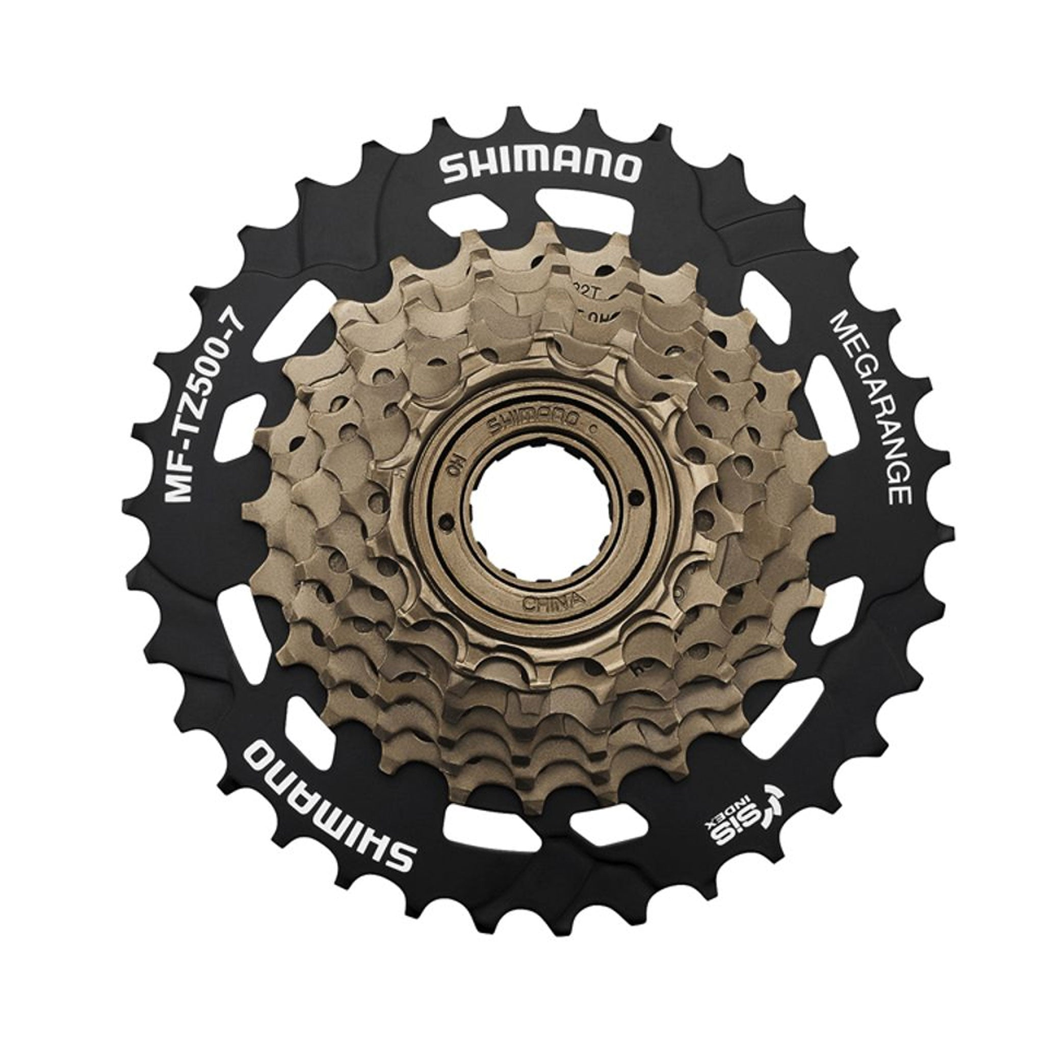 Shimano MF-TZ500 7 Speed Freewheel 7, 14-34 Tooth buy online at Woolys Wheels