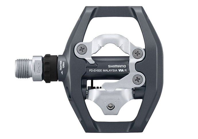 Shimano PD-EH500 SPD Pedals (one side flat-sided)