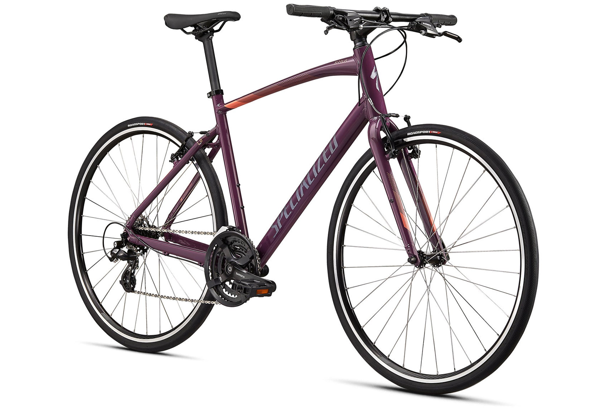 2021 Specialized Sirrus 1.0, Gloss Cast Lilac, Unisex Fitness Bike, Wol;lys Wheels Sydney