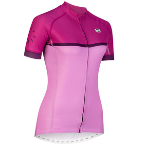 Solo Women's Cadence Jersey, Purple/Pink, buy online at Woolys Wheels with free delivery