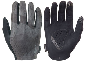 Specialized Grail Gloves, Long Finger, Mens, Black/Charcoal Camo, Woolys Wheels, Sydney