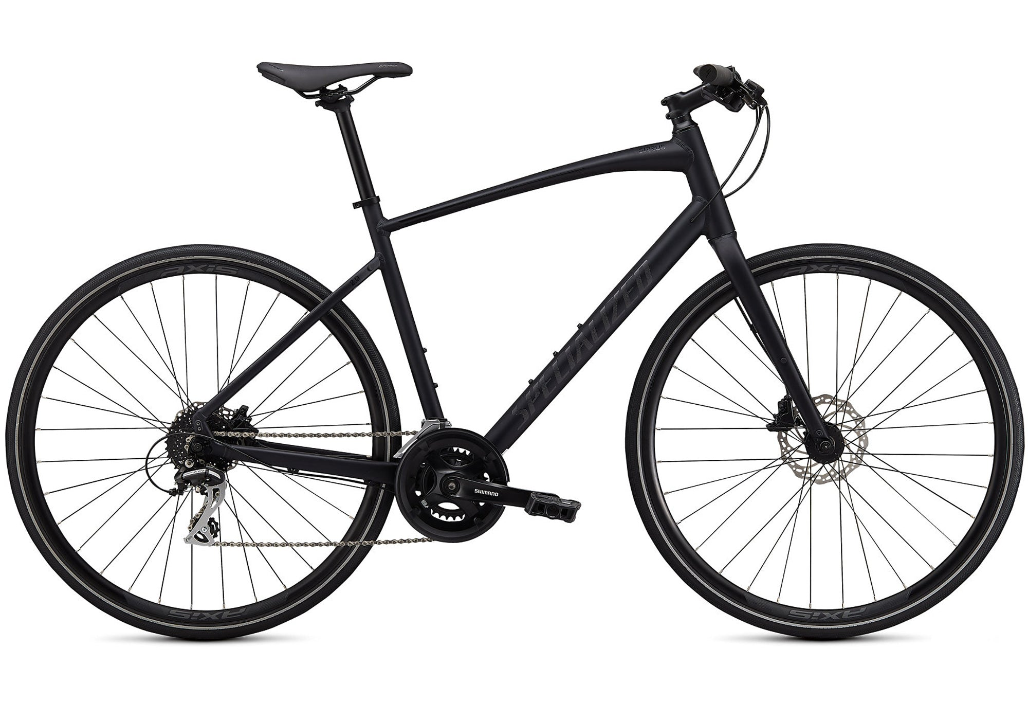 2020 Specialized Sirrus 2.0 Mens, Satin Cast Black, Woolys Wheels Sydney