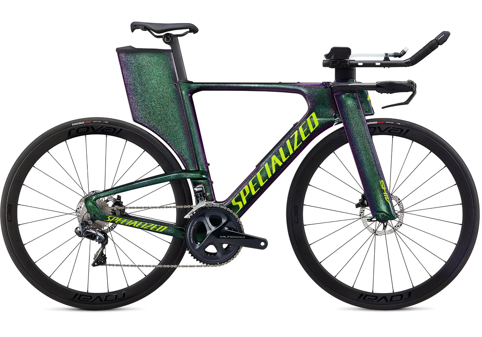 2020 Specialized Shiv Expert Disc, Gloss Green Chameleon Woolys Wheels Sydney