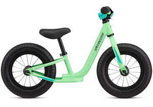 "2020 Specialized Hotwalk Balance Bike 10"" Gloss Acid Kiwi/Black Woolys Wheels Sydney"