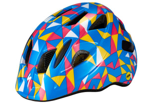 Specialzed Mio Toddler Helmet With Mips, Pro Blue/Golden Yellow Geo, Woolys Wheels Sydney