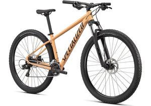2020 Specialized Rockhopper 27.5, Gloss Ice Papaya Mountain Bike at Woolys Wheels Sydney