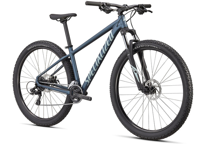 2020 Specialized Rockhopper 29 Mountain Bike, Satin Cast Blue, Woolys Wheels Sydney
