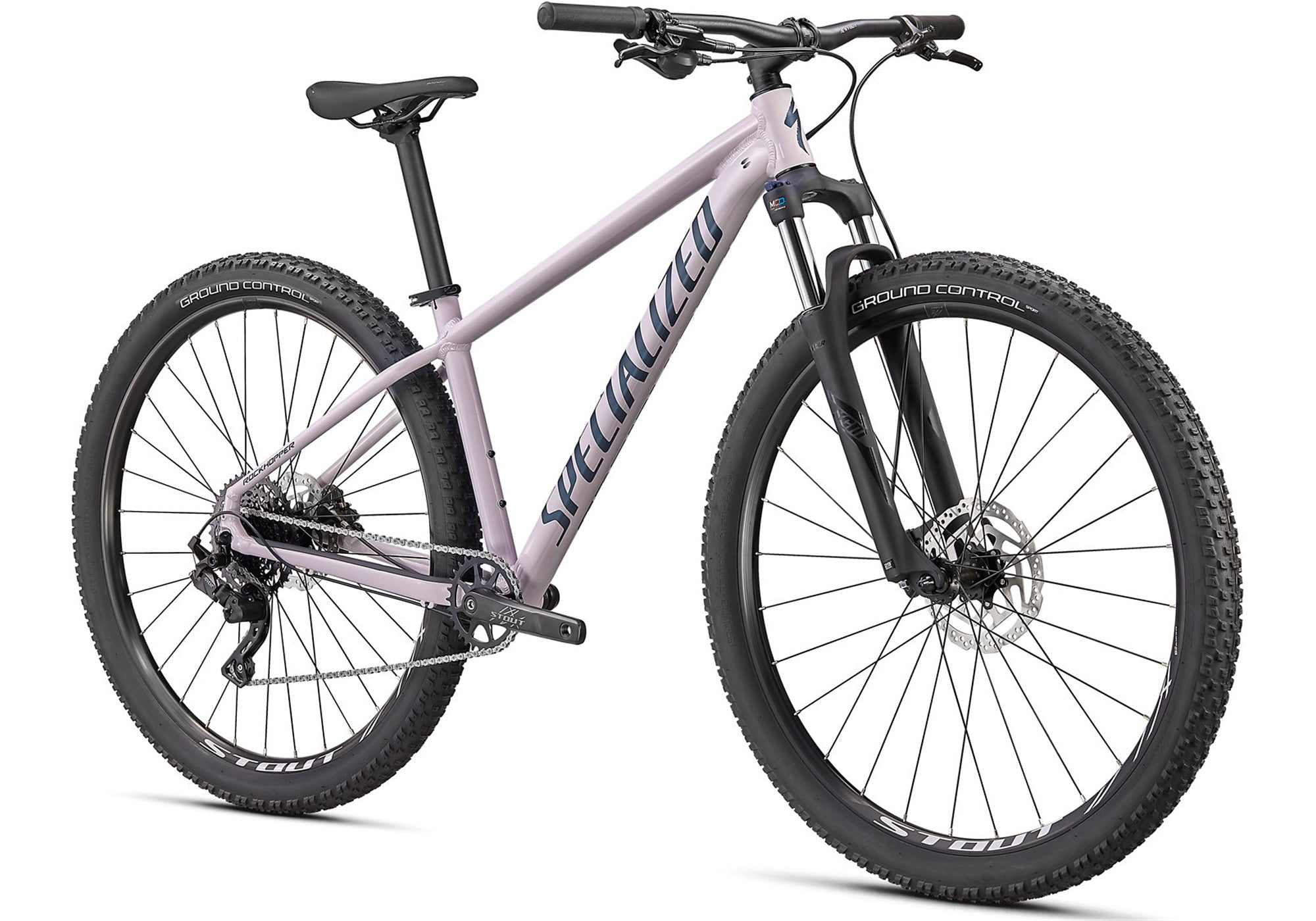 2020 Specialized Rockhopper Comp 29 Mountain Bike, Gloss Clay