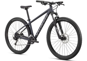 2020 Specialized Rockhopper Sport 27.5 Mountain Bike, Satin Slate at Woolys Wheels Bicycles Sydney