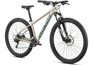 2020 Specialized Rockhopper Sport 29 Mountain Bike, Gloss White Mountains Woolys Wheels