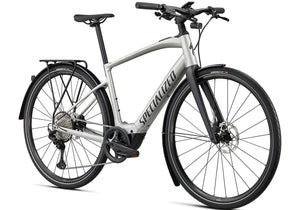 2020 Specialized Turbo Vado SL 5.0 EQ Electric Bike, Brushed Aluminium at Woolys Wheels Sydney