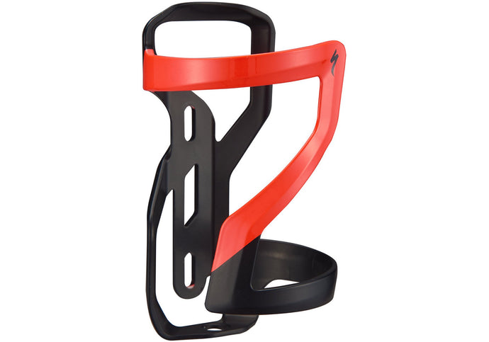 Specialized Zee cage II – Right Loading , Matte Black/Rocket Red