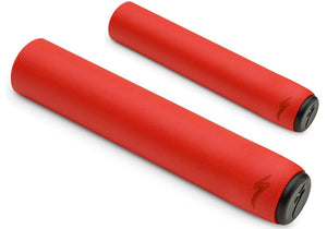 Specialized XC RACE Slip On MTB Grips, Red, Woolys Wheels