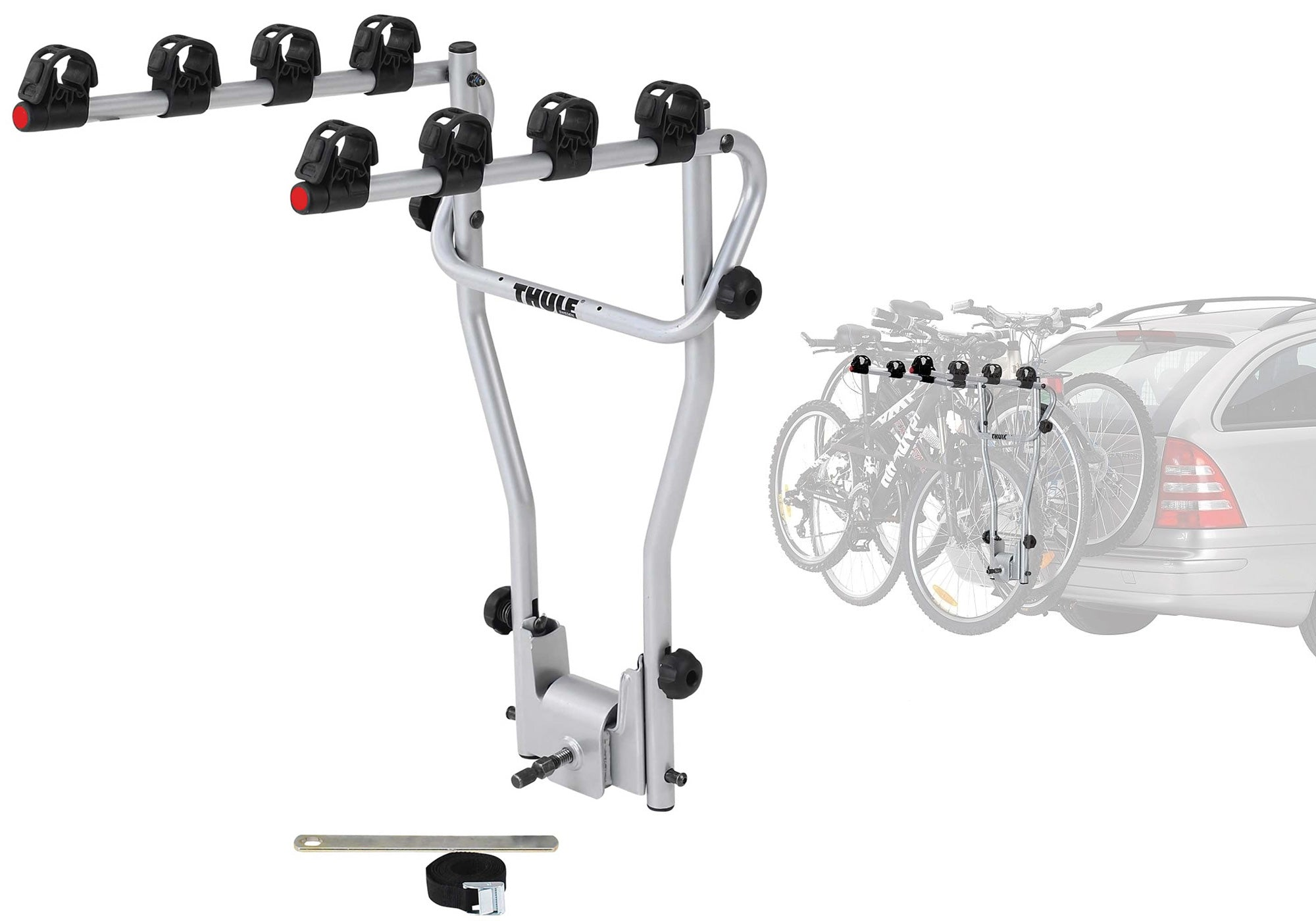 Thule 9708 Hangon 4 Bike Tiltable Rack Towball Mount Eastern Suburbs Sydney Woolys Wheels