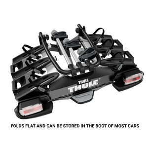 Thule VeloCompact Towbar Mount 3 Bike Rack with 7 Pin Connector