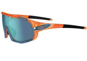 Tifosi Sledge Crystal Orange Sunglasses With 3 Interchangeable Lenses buy online Woolys Wheels Sydney