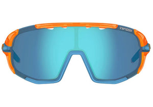 Tifosi Sledge Crystal Orange Sunglasses With 3 Interchangeable Lenses