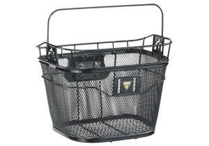 Topeak Front Basket, Black, Woolys Wheels Sydney