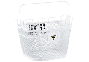 Topeak Front Basket, White Woolys Wheels