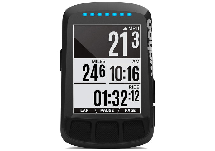 Wahoo ELEMNT BOLT GPS Bike Computer - Stealth LTD Aero Edition available at Woolys Wheels Sydney