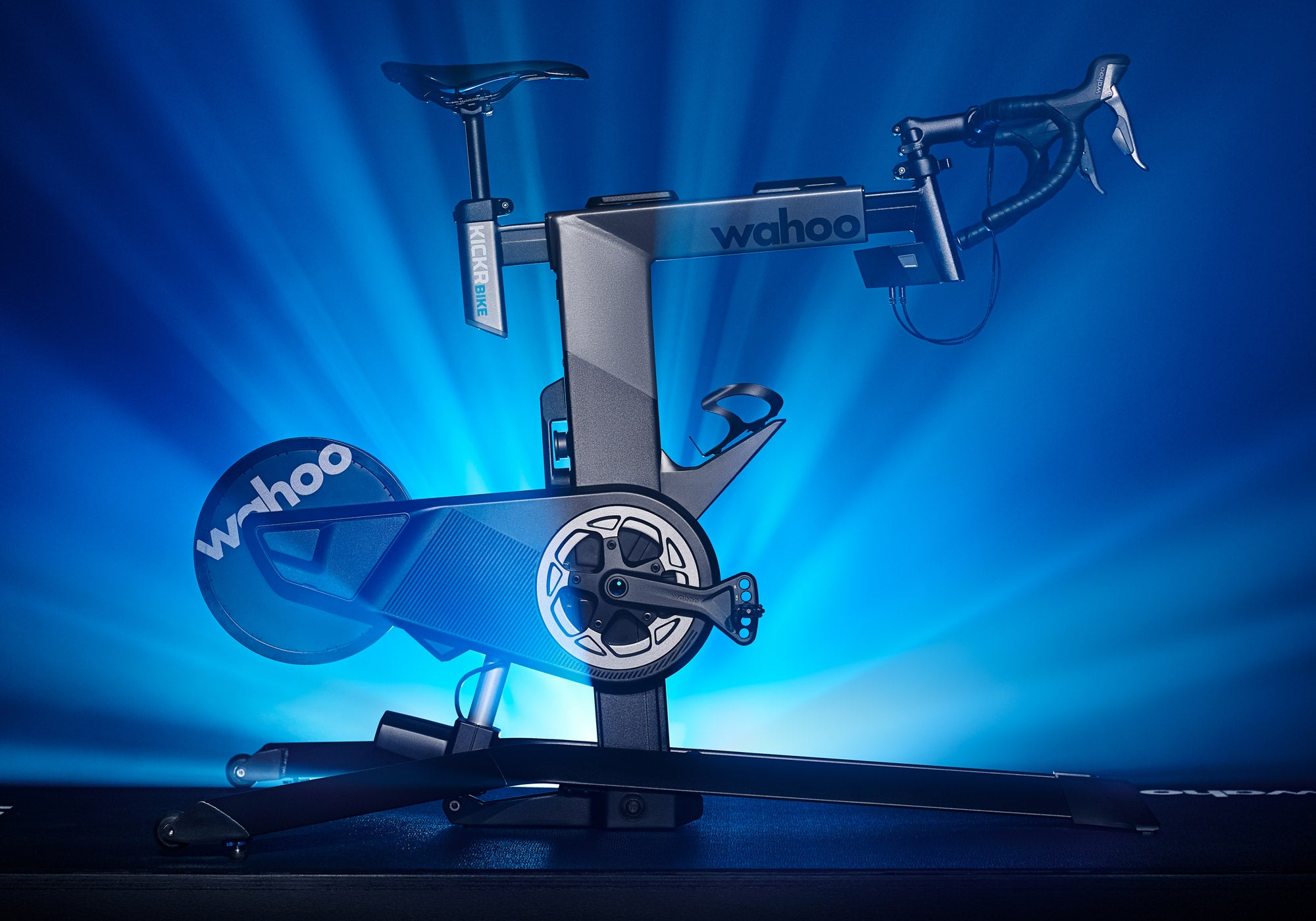 Wahoo Kickr Bike Smart Trainer available at Woolys Wheels Sydney