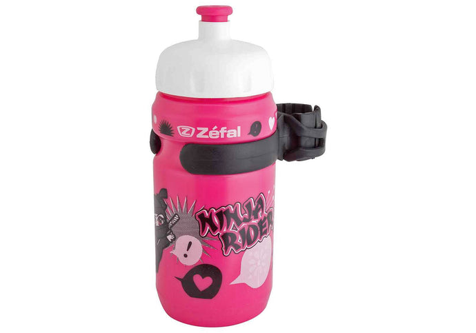 Zefal Little Z Ninja Girls Bottle 350ml, Woolys Wheels, Sydney