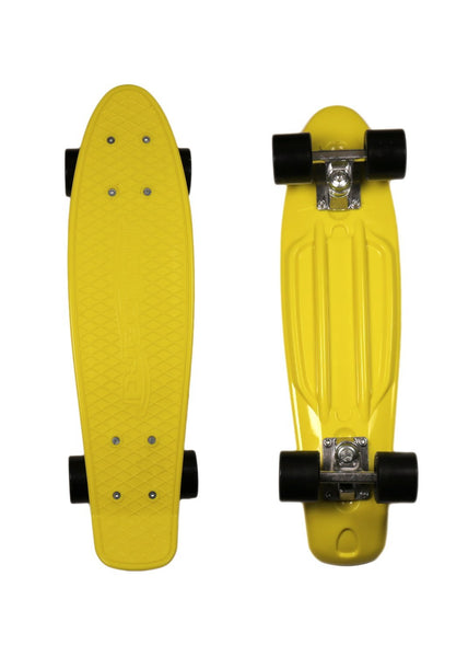 MoBoard Graphic Complete Skateboard (Yellow - Dark Blue)