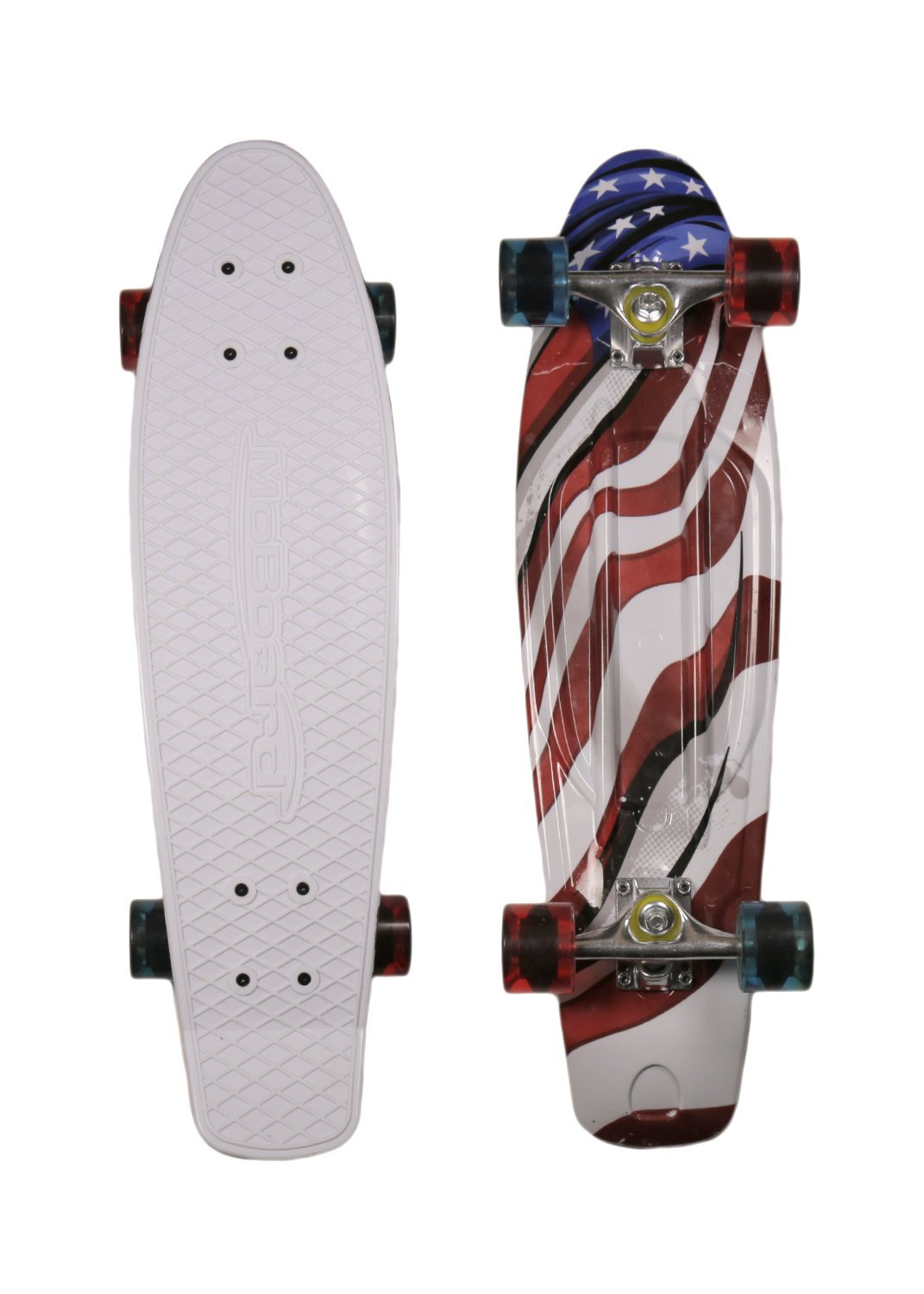 MoBoard Graphic Complete Skateboard (USA Flag)