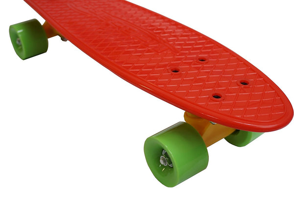 MoBoard Graphic Complete Skateboard (Red / Green)