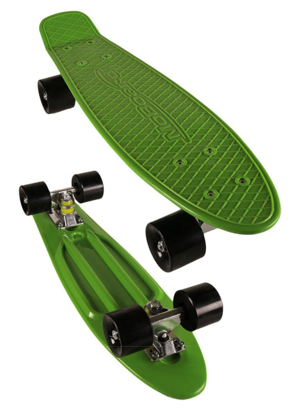 MoBoard Graphic Complete Skateboard (Green / Dark Blue)
