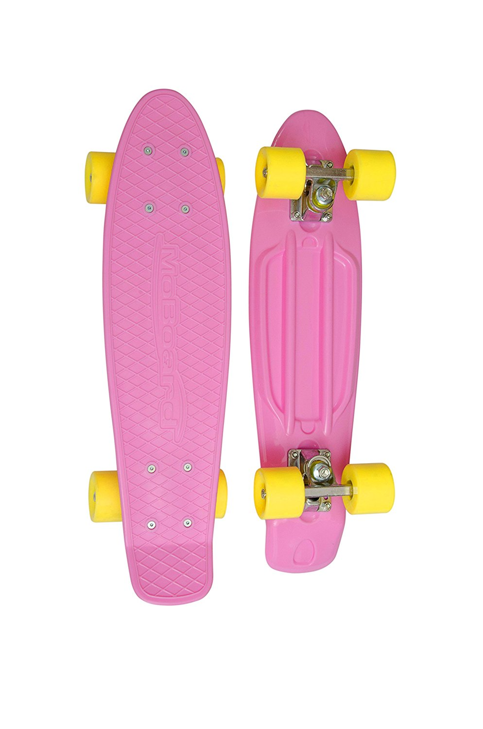 MoBoard Graphic Complete Skateboard ( Pink - Yellow)